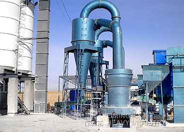 Raymond mill gypsum production line in India