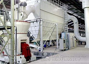 Vertical mill quartz processing in India