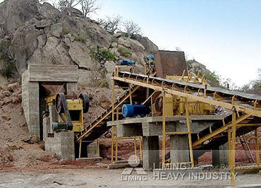 150-200TPH limestone production