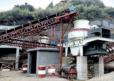 200TPH granite crushing plant in South Africa