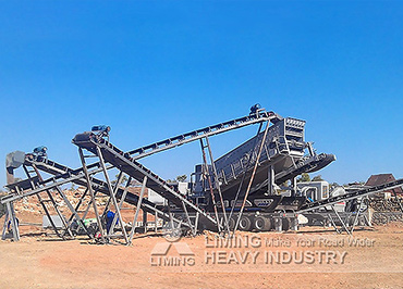 110tph hard stone Mobile crushing line with generator in Luanda, Angola