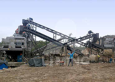 150tph hard stone Mobile crushing line in Quito, Ecuador