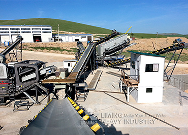 400TPH limestone mobile crushing plant in Kazakhstan