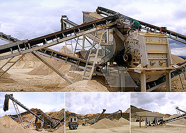 80-100TPH hard stone mobile crushing line in Colombia