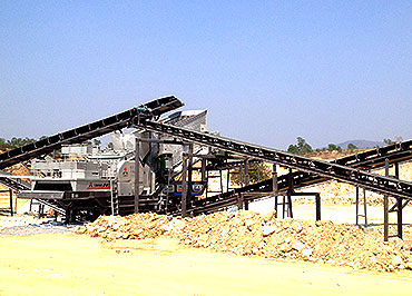 <b>400tph gypsum mobile crushing plant in Thailand</b>