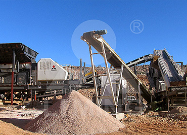 300tph granite mobile crushing line in Nigeria