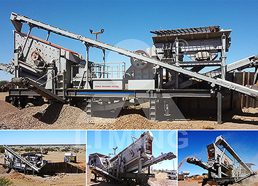 30-50tph diamond waste Mobile crushing line in South Africa