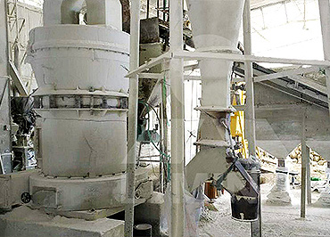 4TPH Calcium Carbonate Grinding Plant TGM 100 In Colombia