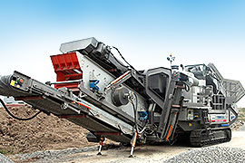 Crawler type Mobile Crushing Pl