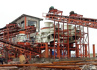 200TPH River sand making plant