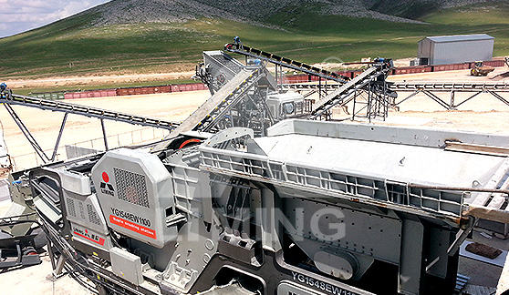 450-550TPH MOBILE STONE CRUSHING PLANT