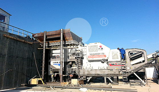550-650TPH mobile STONE CRUSHING PLANT